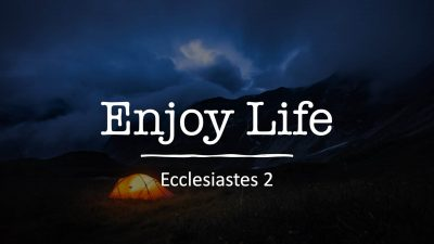 Ecclesiastes 2