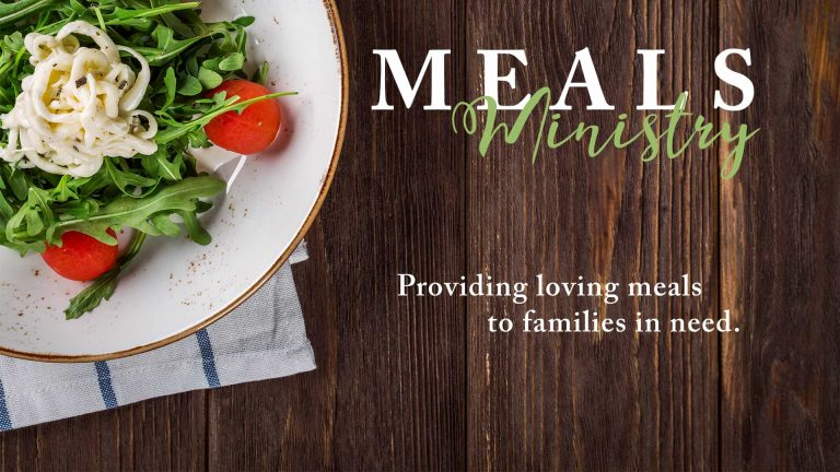 Meals Ministry BLANK