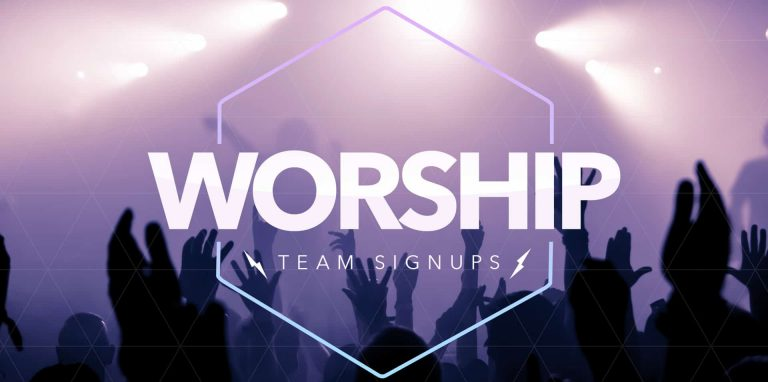 Worship Team Auditions SCREEN